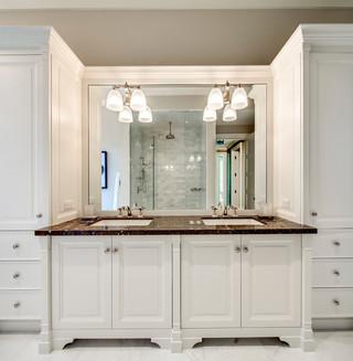 现代简约风格厨房一层半别墅客厅豪华客厅灯具效果图