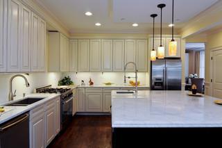 现代简约风格卫生间小型公寓卧室温馨整体厨房吊顶装修