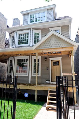 现代简约风格卧室小型公寓温馨装饰拐角飘窗设计图