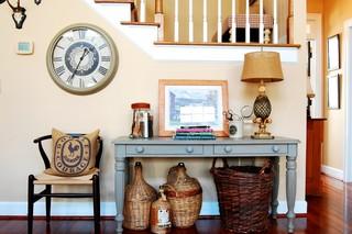 法式风格2013年别墅浪漫婚房布置家庭楼梯装修效果图
