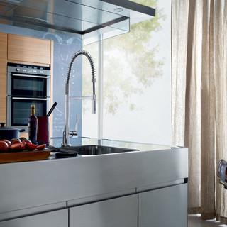 现代简约风格卧室小型公寓现代简洁客厅吧台设计图