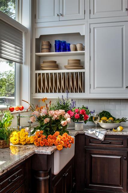 美式风格客厅三层平顶别墅可爱房间6平米厨房装修效果图