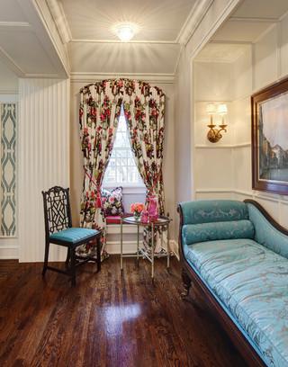 地中海风格小户型公寓小清新懒人沙发效果图