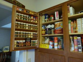 简欧风格家具小型公寓温馨装饰厨房收纳架图片