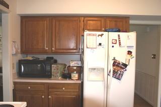 小户型简欧风格单身公寓厨房温馨装饰4平米厨房装修效果图