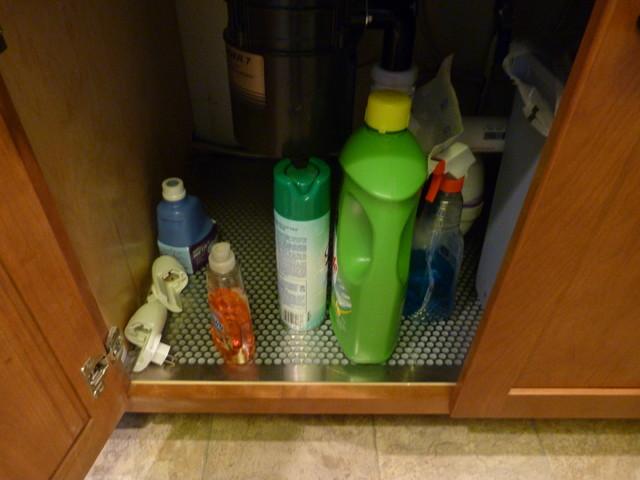 简欧风格卫生间单身公寓厨房简单温馨效果图