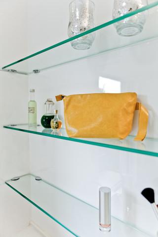 现代简约风格厨房单身公寓小清新厨房收纳架图片