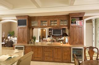 欧式风格家具三层别墅新古典主客厅和餐厅的装修效果图