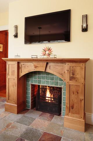现代欧式风格一层别墅及低调奢华小客厅电视背景墙装修图片