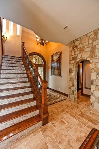 欧式风格家具2013别墅及中式古典风格室内装修楼梯装修图片