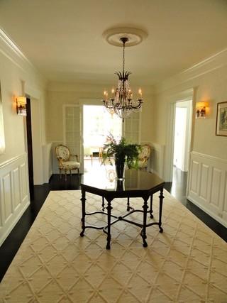 现代美式风格酒店公寓舒适家用餐桌效果图