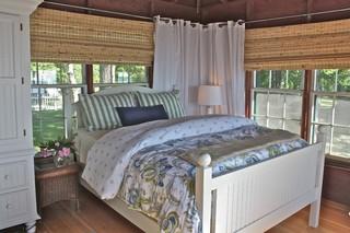 东南亚风格卧室单身公寓厨房可爱实木沙发客厅效果图