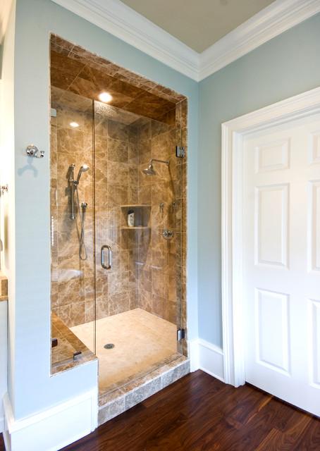 欧式简约风格一层半别墅唯美品牌整体淋浴房定制