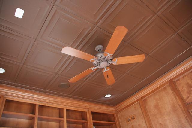 美式乡村风格卧室三层小别墅可爱房间客厅吊顶灯带设计图纸