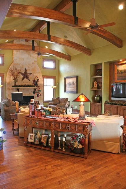 美式乡村风格客厅200平米别墅可爱装修效果图