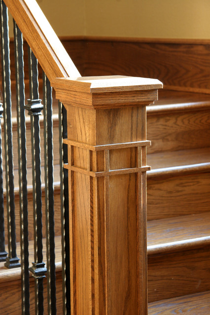 美式乡村风格2013别墅可爱客厅跃层楼梯装修图片