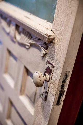 欧式风格家具一层别墅及古典中式入门玄关效果图