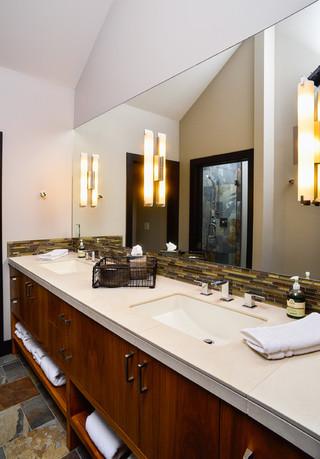 欧式风格客厅单身公寓设计图奢华品牌浴室柜效果图