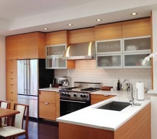 欧式风格loft公寓时尚2014家装厨房效果图