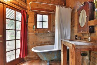 田园风格饭店一居室装饰浪漫婚房布置4平方卫生间设计图纸