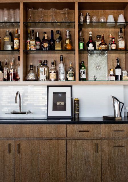 美式乡村风格卧室欧式餐厅酒柜图片