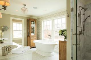 新古典风格卧室三层独栋别墅简洁品牌浴室柜图片