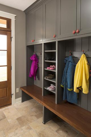 新古典风格200平米别墅客厅简洁主卫改衣帽间设计图