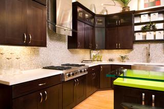 现代简约风格厨房老年公寓时尚家居装饰装修效果图