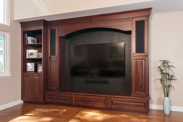 欧式风格卧室一层别墅大气家庭电视背景墙装修效果图