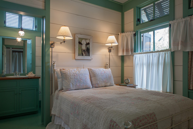 美式风格海边别墅唯美5平米卧室改造