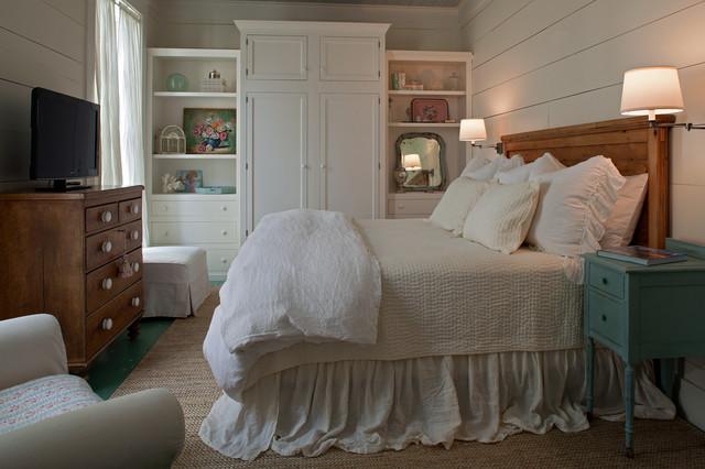 美式风格客厅海边别墅唯美床头柜图片