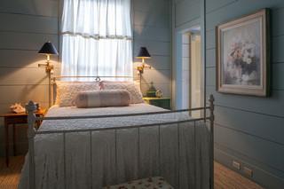 美式风格海边别墅唯美欧式窗帘图片