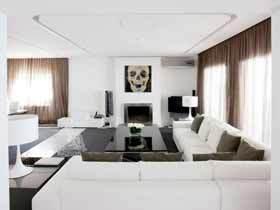 西班牙简约风格公寓