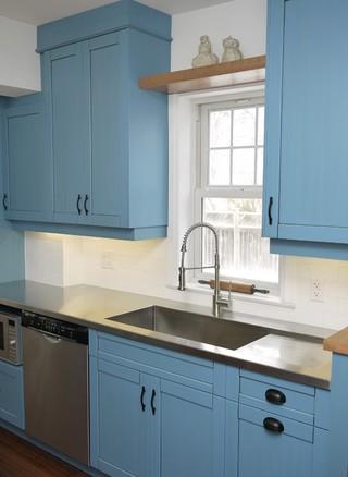 现代简约风格卧室一层别墅及小清新2013整体厨房设计图