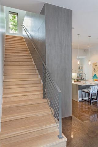现代简约风格卧室2013别墅豪华室内家庭楼梯效果图