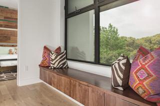 现代简约风格餐厅一层别墅别墅豪华室内窗户效果图