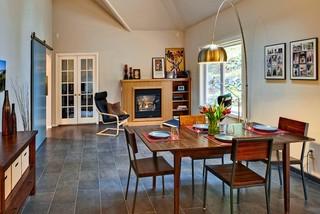 现代美式风格2013别墅暖色调2014客厅窗帘装修