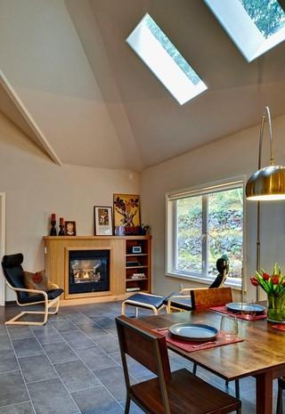 现代美式风格2013别墅及暖色调宜家椅子效果图