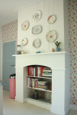 混搭风格客厅2013别墅可爱卧室中式电视背景墙装修效果图