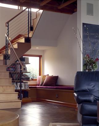 现代简约风格300平别墅时尚卧室装饰装修走廊吊顶设计