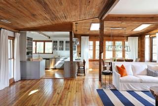 新古典风格卧室一层别墅及古典装饰2012客厅吊顶改造