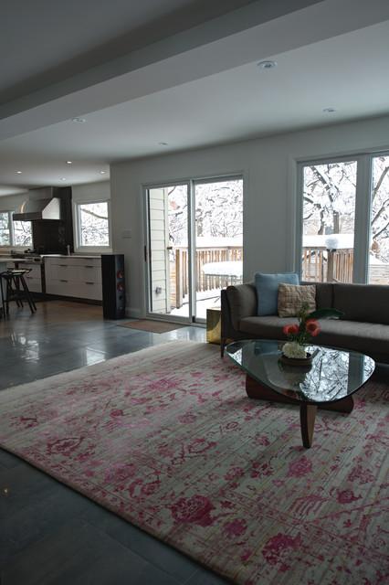 现代简约风格餐厅卧室复式大气2014客厅吊顶装修