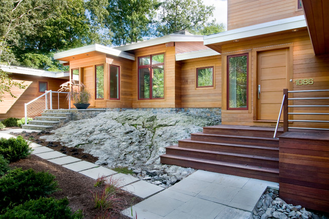 美式乡村风格客厅一层半别墅舒适公司门厅装修效果图