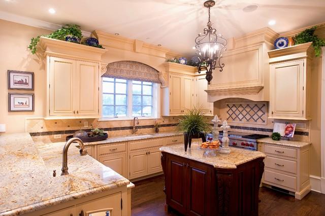 loft风格三层小别墅古典家具厨房与餐厅隔断设计图纸