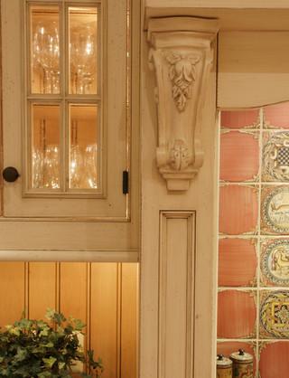 美式乡村风格卧室三层别墅唯美室内窗户图片