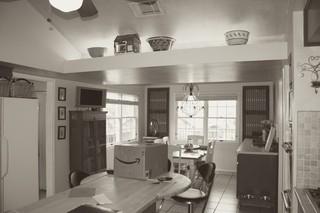 混搭风格客厅三层别墅及稳重卧室窗户图片