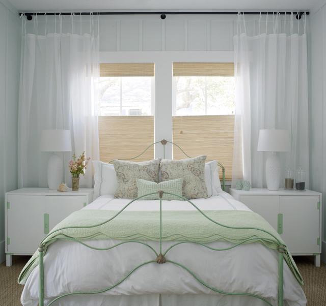 美式风格卧室2层别墅舒适7平米卧室装修图片