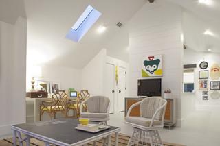 美式风格300平别墅舒适品牌布艺沙发图片