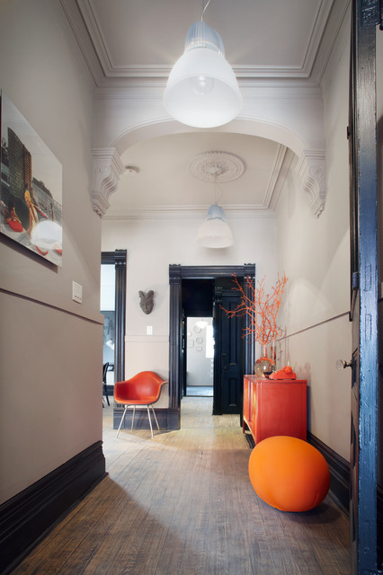 混搭风格客厅三层连体别墅实用卧室进门过道吊顶设计图纸