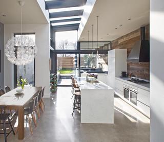 现代简约风格卫生间一层半小别墅现代时尚客厅办公室过道装修效果图